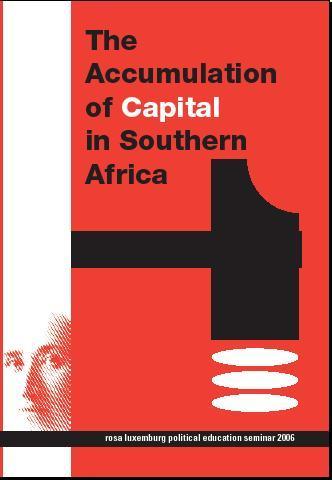 Capa de 'A acumulação de capital na África Austral.