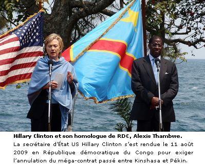 Hillary Clinton no Congo.