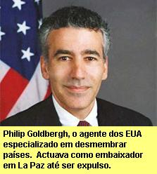 Philip Goldbergh, o embaixador expulso.