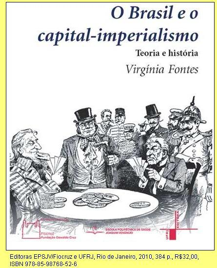 Capa de 'O Brasil e o capital-imperialismo.
