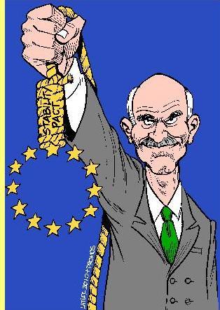 O 'Pacto de estabilidade grego'. Cartoon de Latuff.