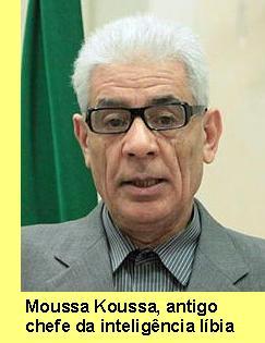Moussa Koussa, o agente duplo.