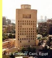 Embaixada dos EUA no Cairo.