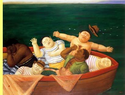 Fernando Botero, exposição 'Testemunhos da barbárie'.