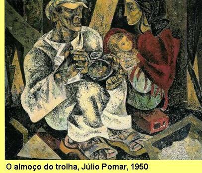 'O almoço do trolha', Júlio Pomar, 1947.