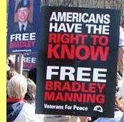 Libertem Bradley Manning.