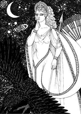 Nemesis, deusa do destino e da vingança.