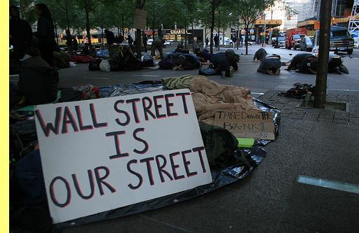 Wall Street é Nossa Rua.