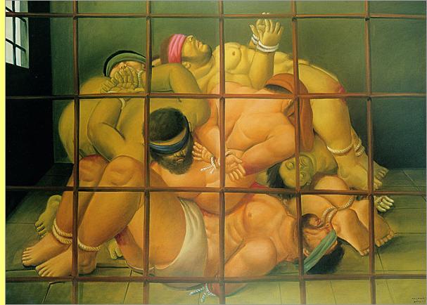Quadro de Fernando Botero.