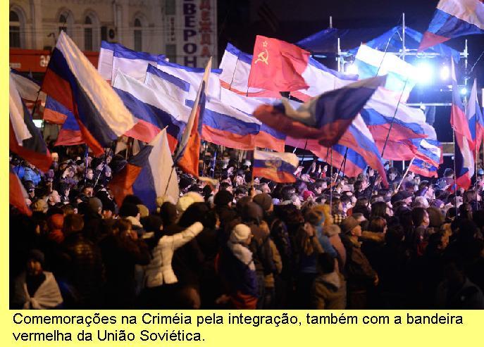 Comemorações na Crimeia.
