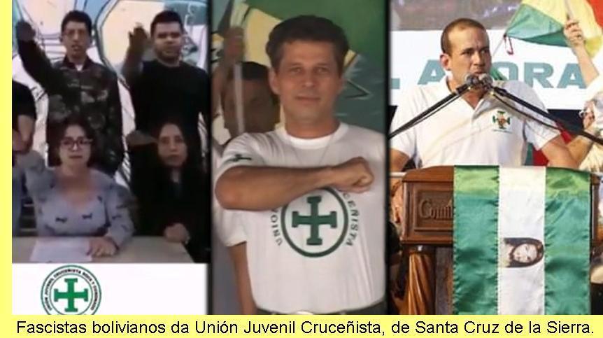 Fascistas bolivianos.