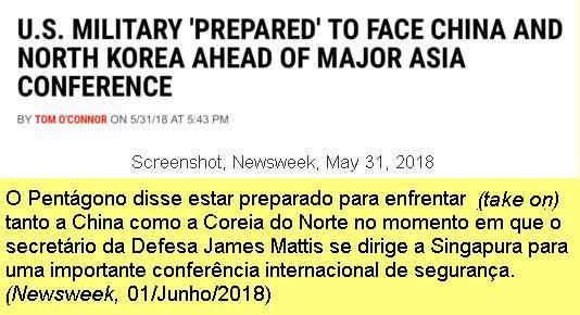 Declarações de Mattis.