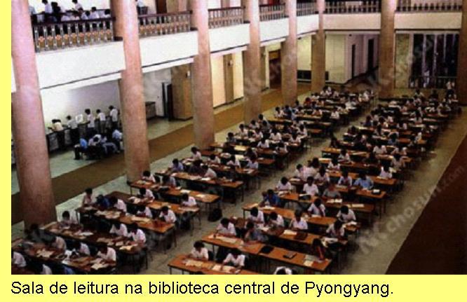 Biblioteca central de Pyongyang.