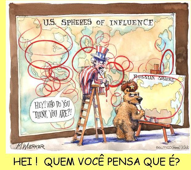 Esferas de influência.