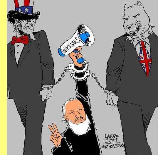 Cartoon de Latuff.