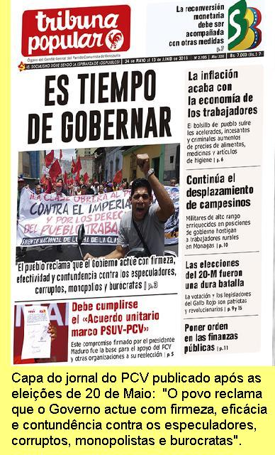 Capa de 'Tribuna Popular'.