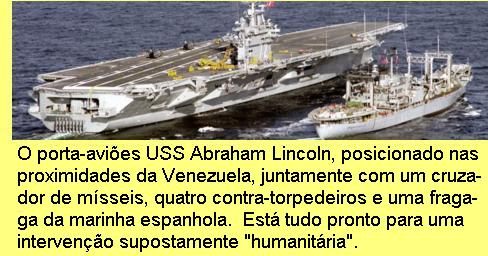 USS Abrahm Lincoln.